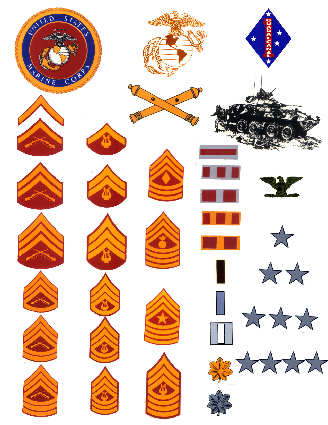 Marine Badges Of Rank Pictures to Pin on Pinterest - PinsDaddy